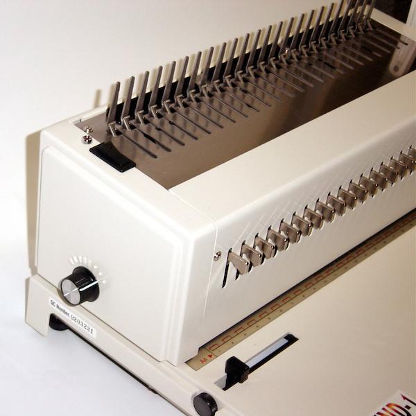 akiles mega bind manual comb punch binder popp binding